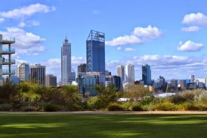Perth depuis Kings Park