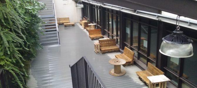 Le patio fait peau neuve
