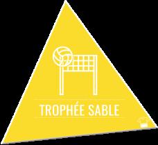 Trophée sable