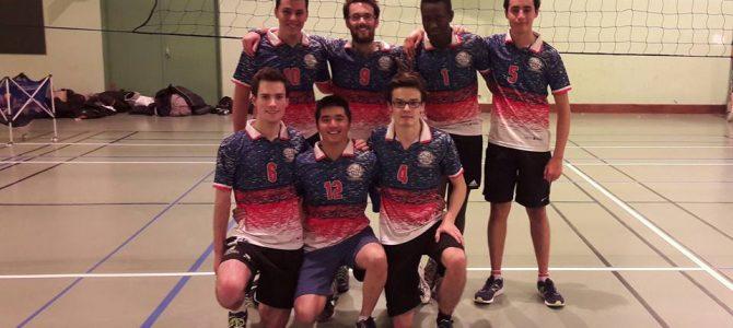 Retour sur les résultats de notre équipe de Volley masculine !